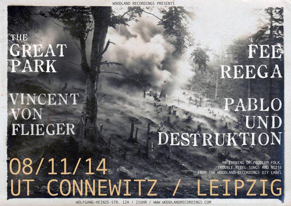 Leipzig, Germany. 14.11.14.