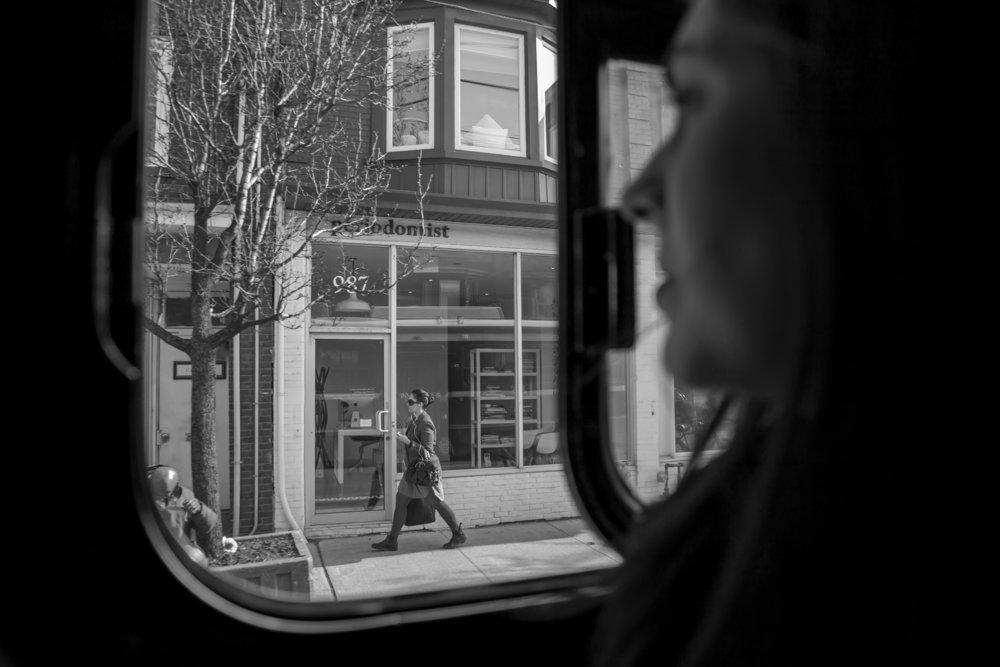 Streetcar, Toronto.