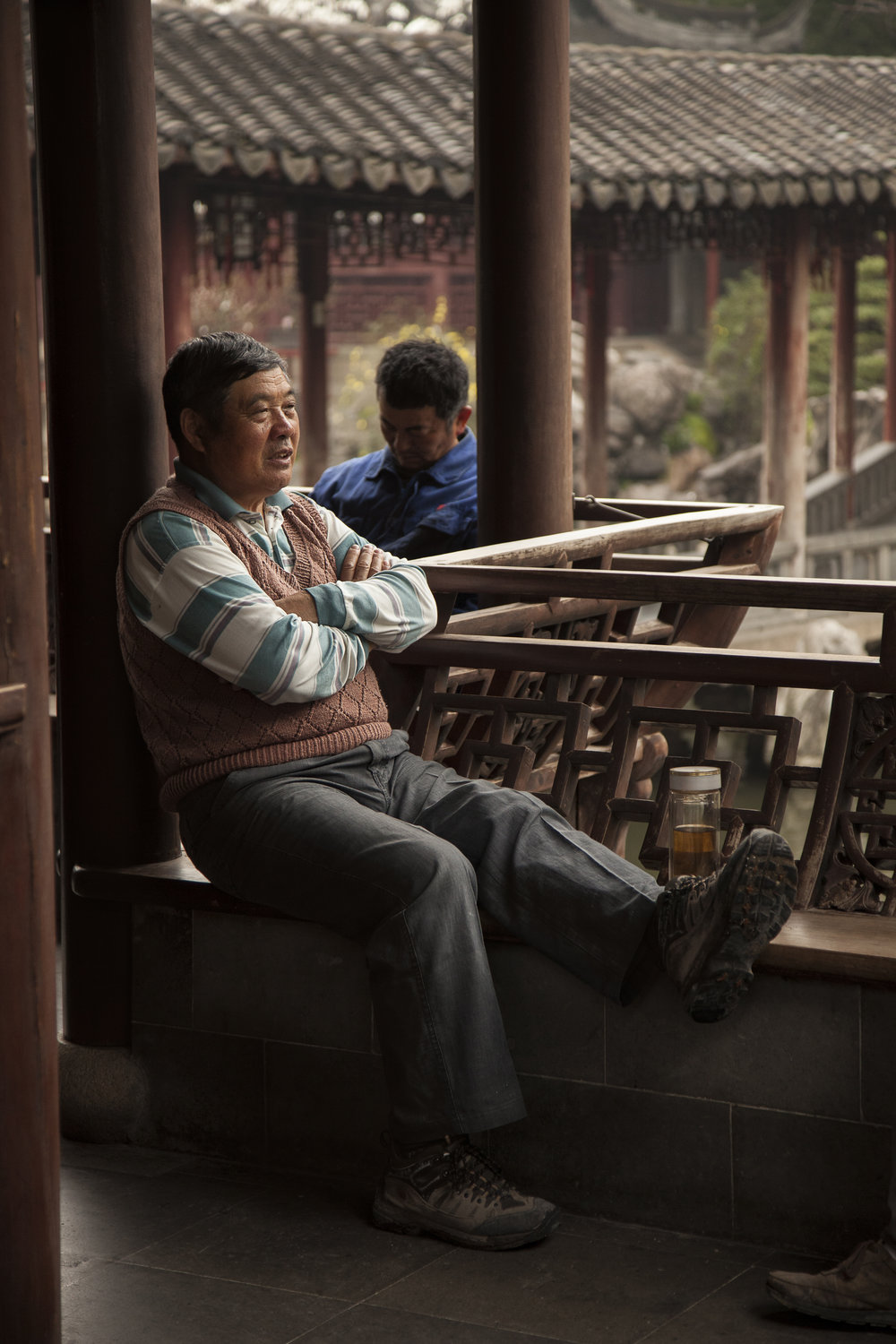 Tea time in Yu Garden