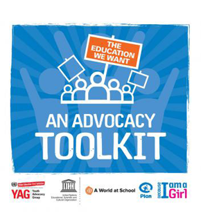 This advocacy toolkit is packed full of ideas, tools and inspiring stories, the resource helps children and youth to effectively advocate for their right to an education.
