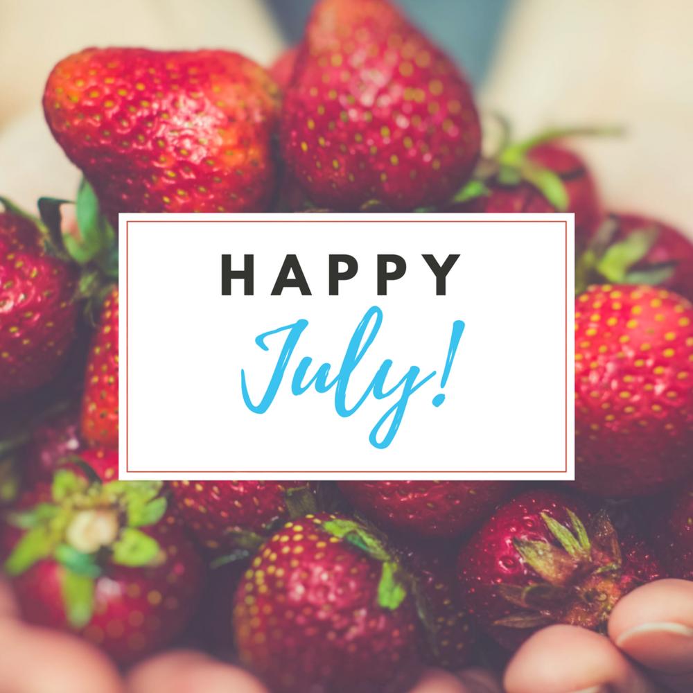 Happy July Strawberries