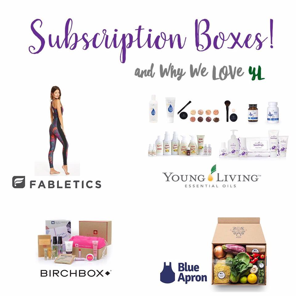 subscription boxes with young living essential rewards