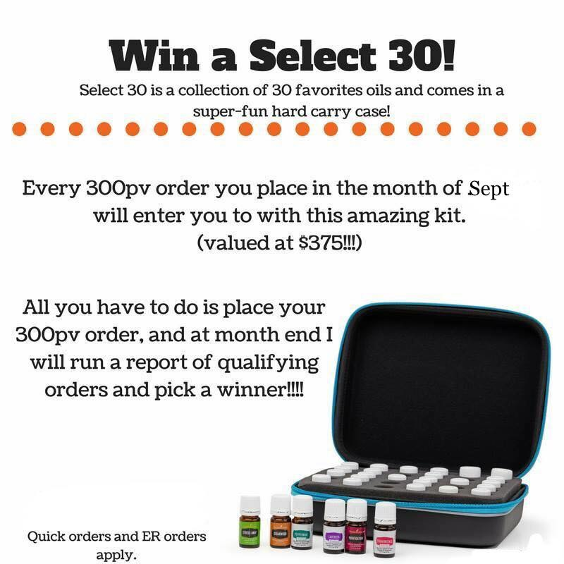 Win Select 30 Young Living