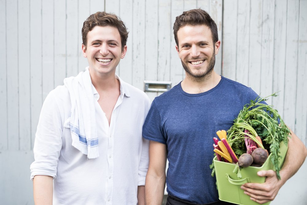 Alex and Jonathan Petrides, Founders of allplants.