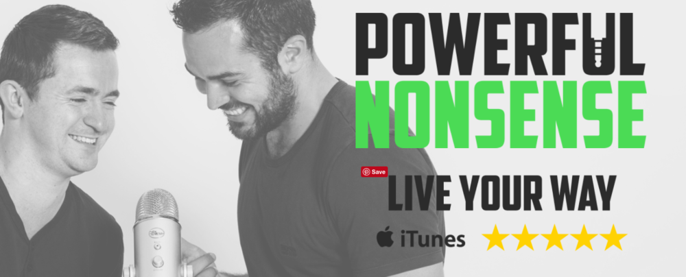 Powerful Nonsense a weekly podcast hosted by Cem