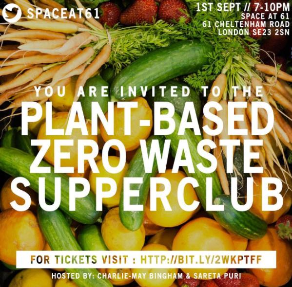 Plant-Based Zero Waste Supper club