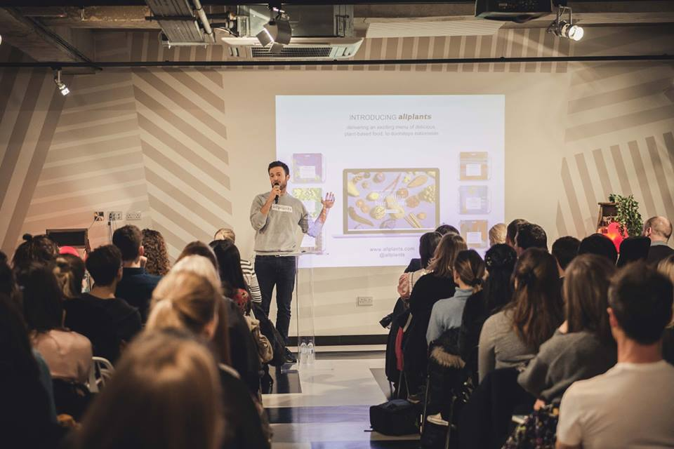 Jonathan Petrides, speaking at Vevolution Topics Food Innovation, February 2017