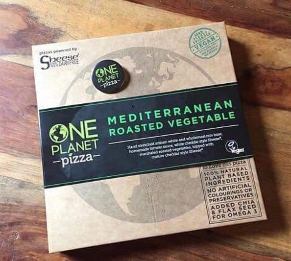 One Planet Pizza, Roasted Mediterranean Range