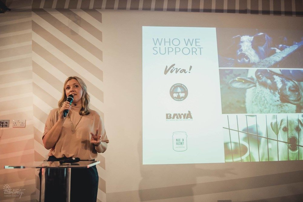 Laura Way, Founder of Votch speaking at Vevolution Topics: Ethical Fashion 2017