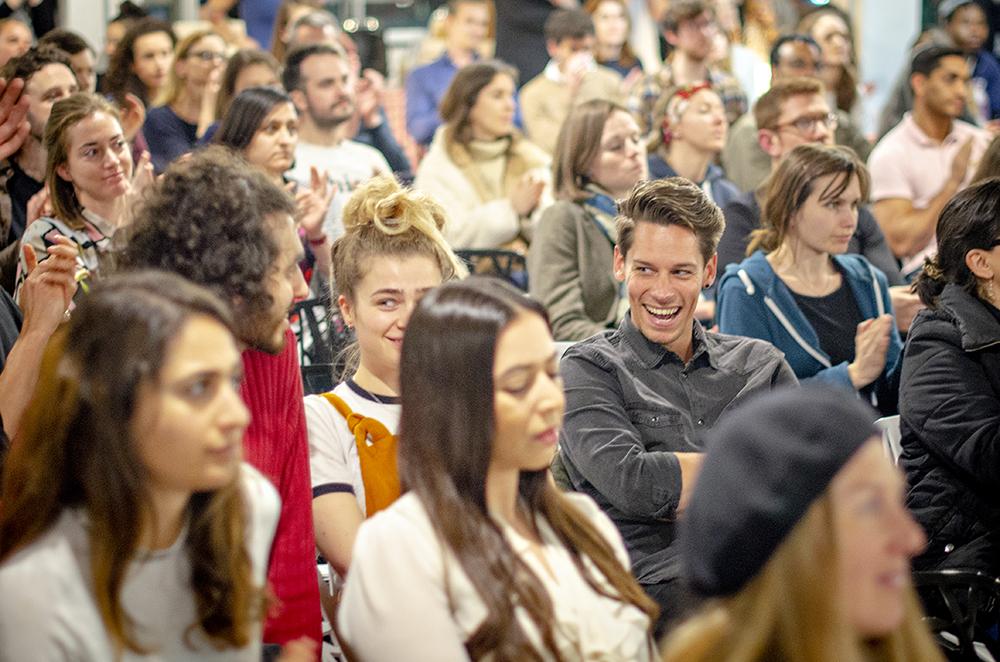 Crowd at Vevolution Topics: Environment 2018