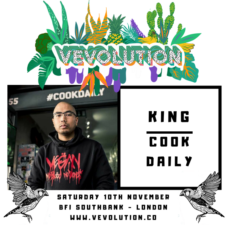 King CookDaily to appear in a special in conversation interview from the Vevolution mainstage
