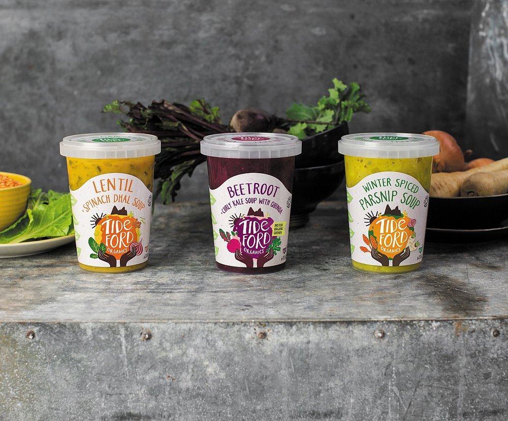 Tideford Organics New Range Of Winter Warmer Soups