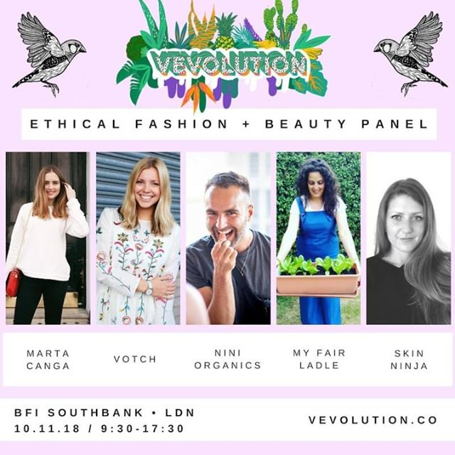 Panel: 360 Sustainability In Fashion + Beauty⠀