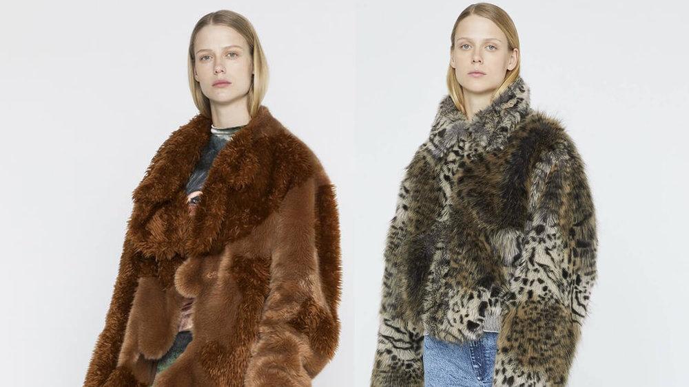 Stella McCartney's Fur-Free Fur Coats (Photo Credit: Stella McCartney)