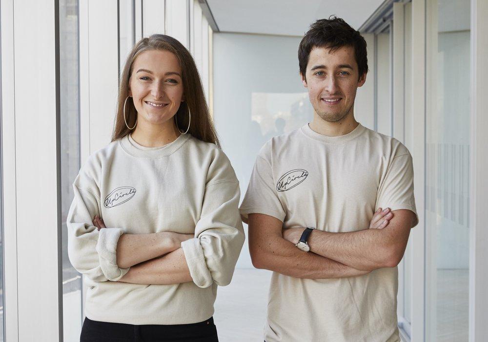 UpCircle Founders Anna & William Brightman