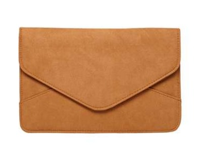 Tan Faux Suede Clutch Bag   Dorothy Perkins United States.jpeg