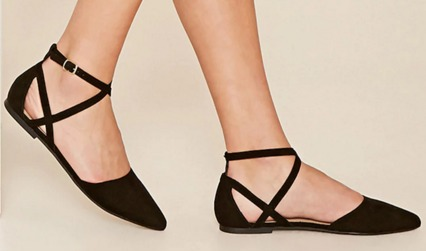 Faux Suede Ankle Strap Flats   Forever 21   2000234106.jpeg