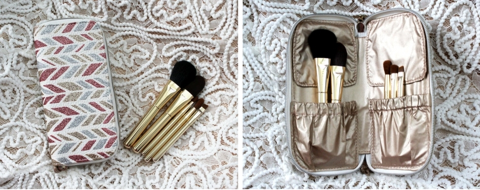 Sephora Collection Sparkle & Shine Skinny Brush Set