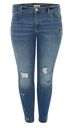 Plus blue embroidered Alannah skinny jeans   skinny jeans   jeans   women.png