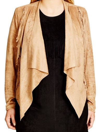 City Chic Faux Suede Fringe Jacket  Plus Size    Nordstrom.png