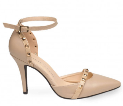 Bianca Studded Ankle Strap Pumps  Wide Width .png