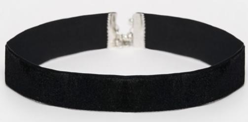 ASOS   ASOS Basic Velvet Choker Necklace.png