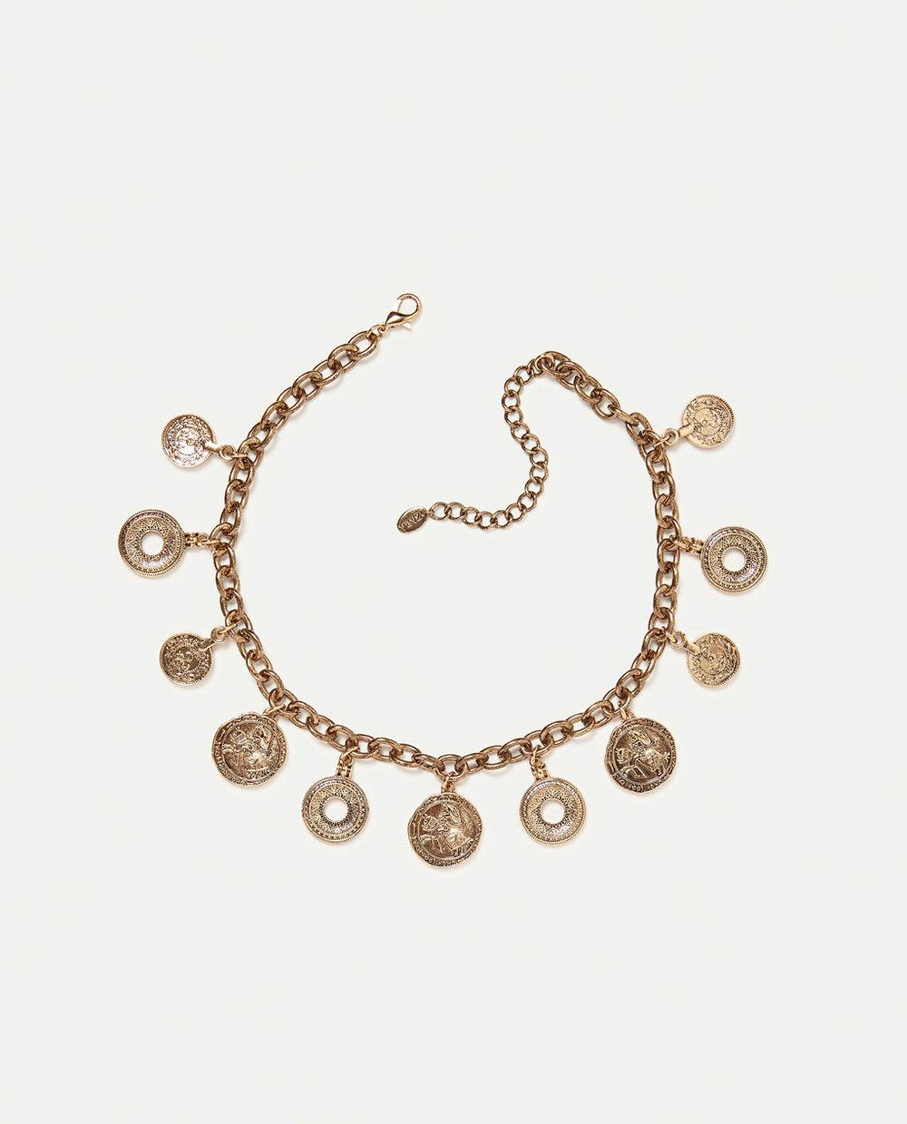 Zara Medallions Necklace