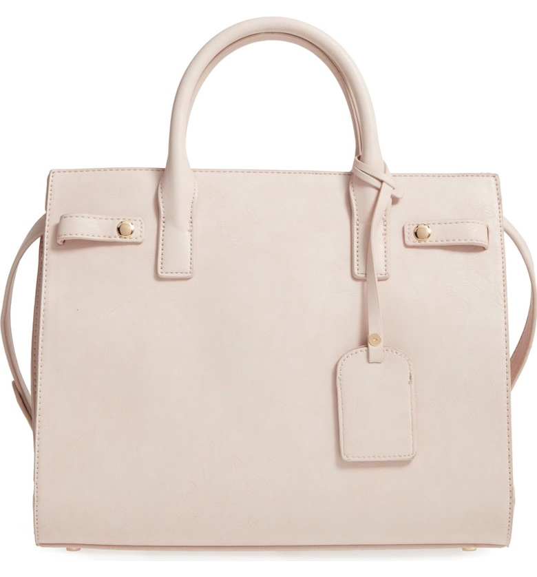 Sole Society Athenia Faux Leather Satchel - Nordstrom