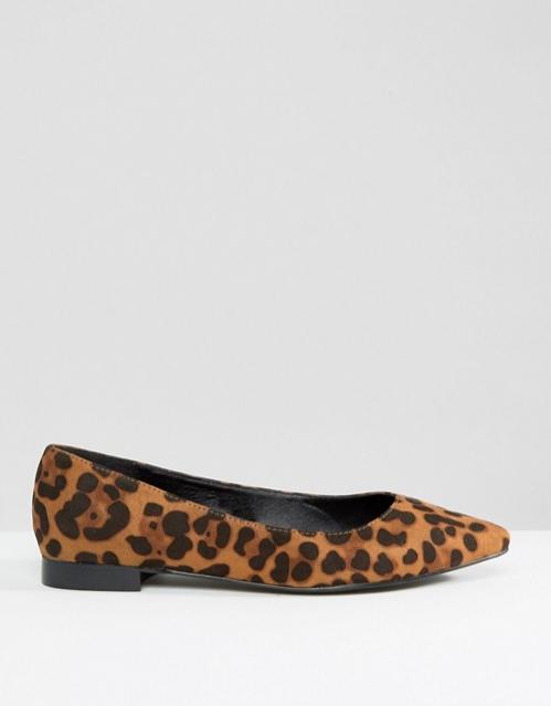 Asos Leopard Print Flats