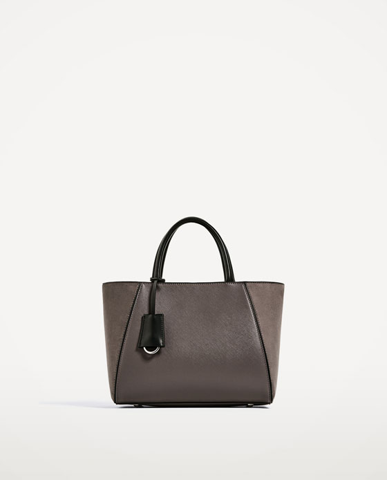 Zara Grey Tote Bag