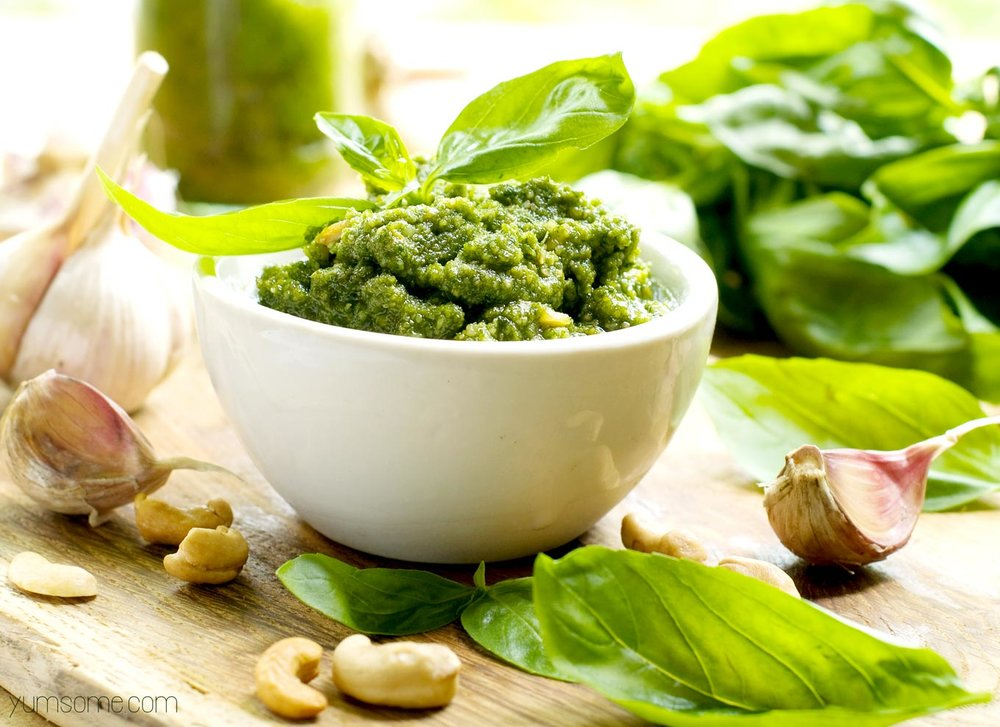 Yumsome - Healthy 5 Minute Vegan Cashew Pesto