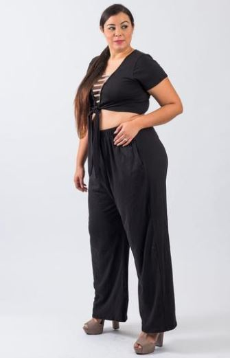 Love Runs Out Palazzo Pant Set