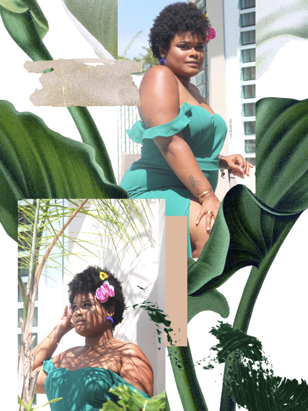Ana -  Con el Verbo en la Piel  - Francisca + Boutique |  Gleeful Designs  | Kleüre Cosmetics |  Makeup by Beth