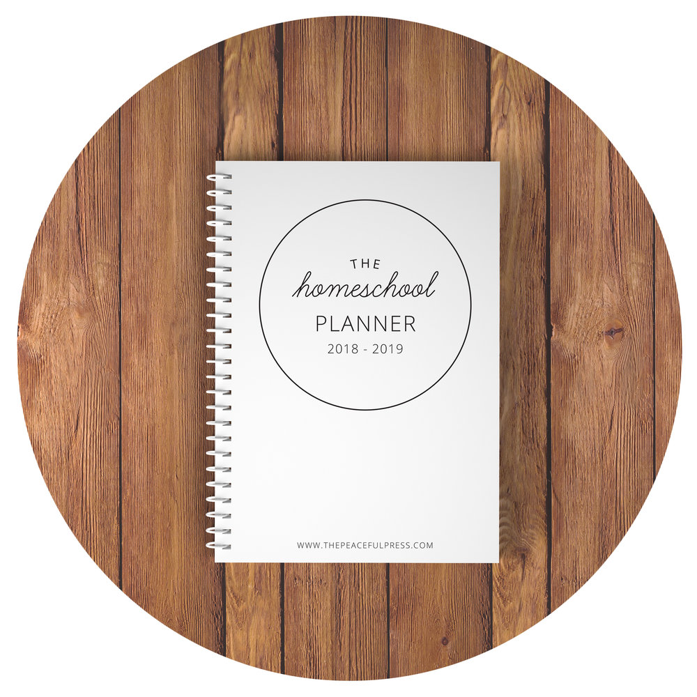 The Peaceful Press Planner