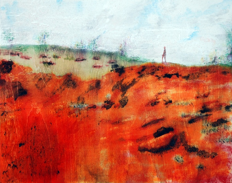 Drew on Red Mud Hill, Kaua'i