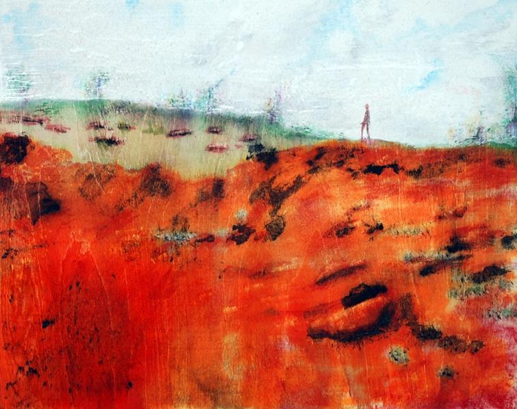 Drew on Red Mud Hill, Kaua'i