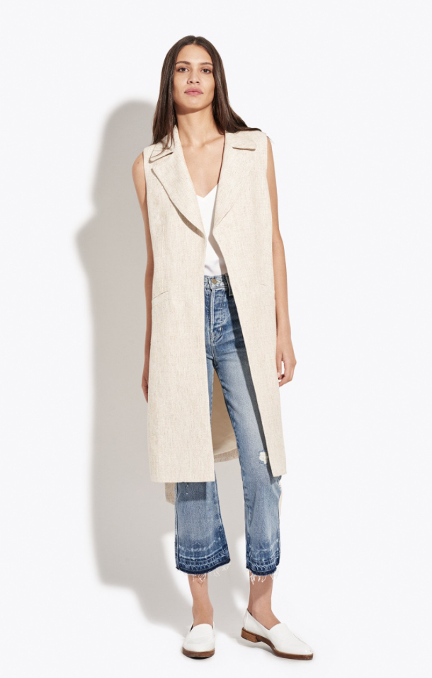 The Sleeveless Easy Blazer