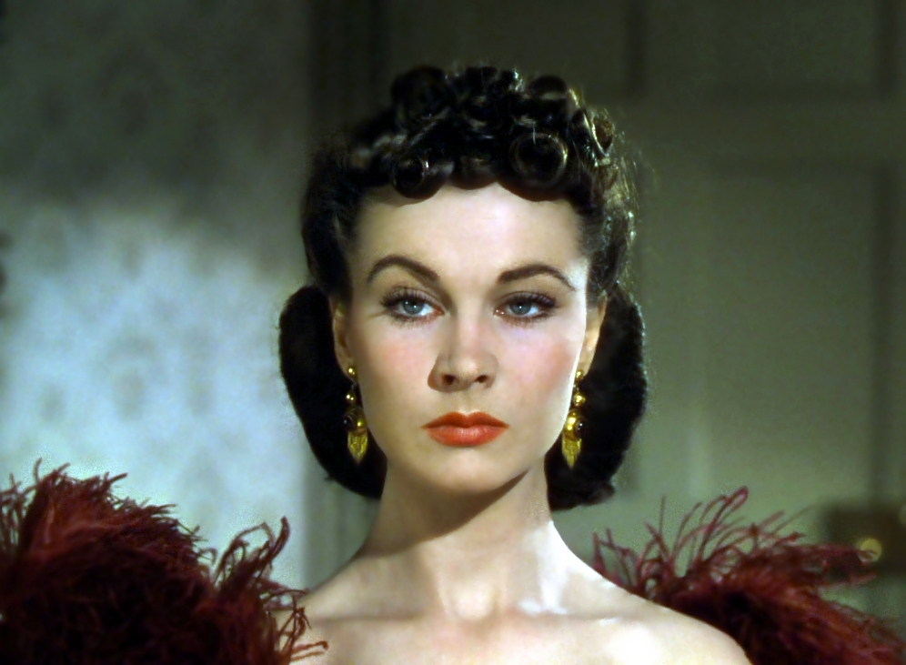 Mood: Vivien Leigh has had it.