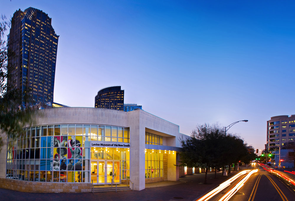 Levine Museum<a href=levine-museum>→</a><strong>Beautiful & Educational Space</strong>