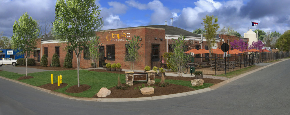 Triple C Brewing<a href=triple-c-brewing>→</a><strong>4400 sqft Brewery & Banquet Hall</strong>