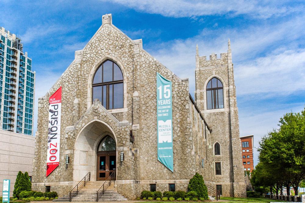 McColl Center<a href=mccoll-center-for-art-innovation>→</a><strong>Center for Art & Innovation</strong>