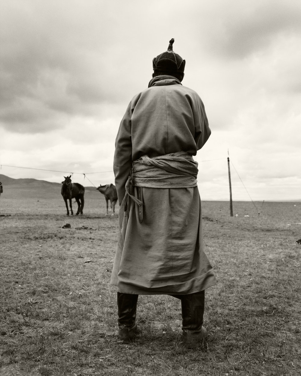 MAN IN MONGOLIA