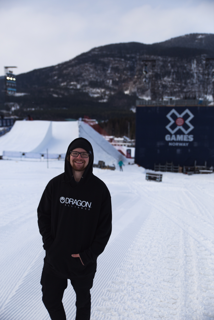 Stoked to be here for X-Games Big Air!