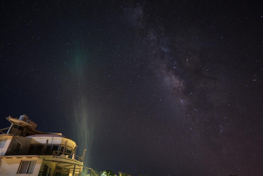 Milky Way over Mexico!