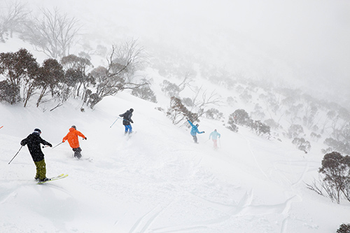 IT WON'T STOP! Thredbo, Australia