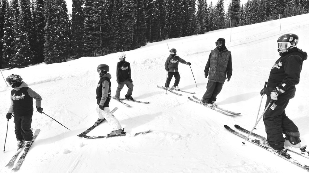 Shredding with the crew!