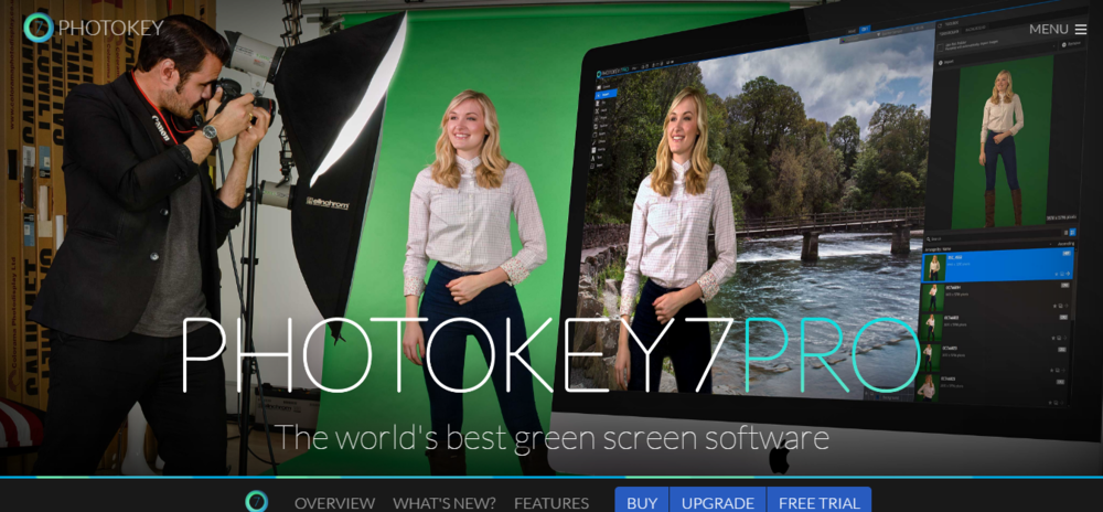 PhotoKey 7 Pro is currently the world's best green screen software.