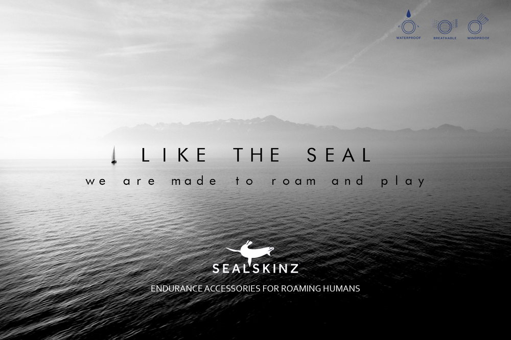 Like the Seal — Graeme Keeton Copywriter (not an official Sealskinz ad.)