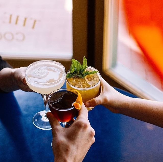 Cheers to getting half way through the week 🥂 Visit @thegoodlionbar for a mid-week cocktail 🍸 📷: @thegoodlionbar . . #cocktails #craftcocktails #drinks #bar #humpday #dtsb #mysantabarbara