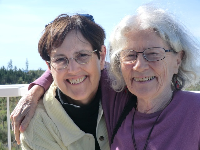 Maggie and Jean Valentine, Great Village, Nova Scotia